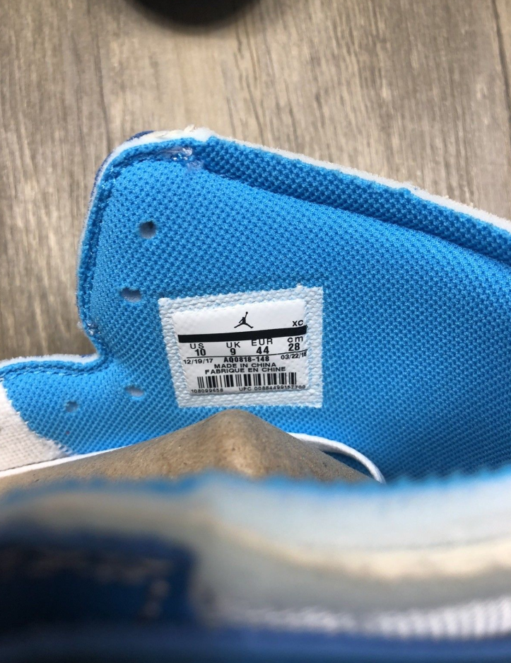 sneakers for cheap 1e634 7f557 Authentic Air Jordan 1 x OFF-WHITE UNC