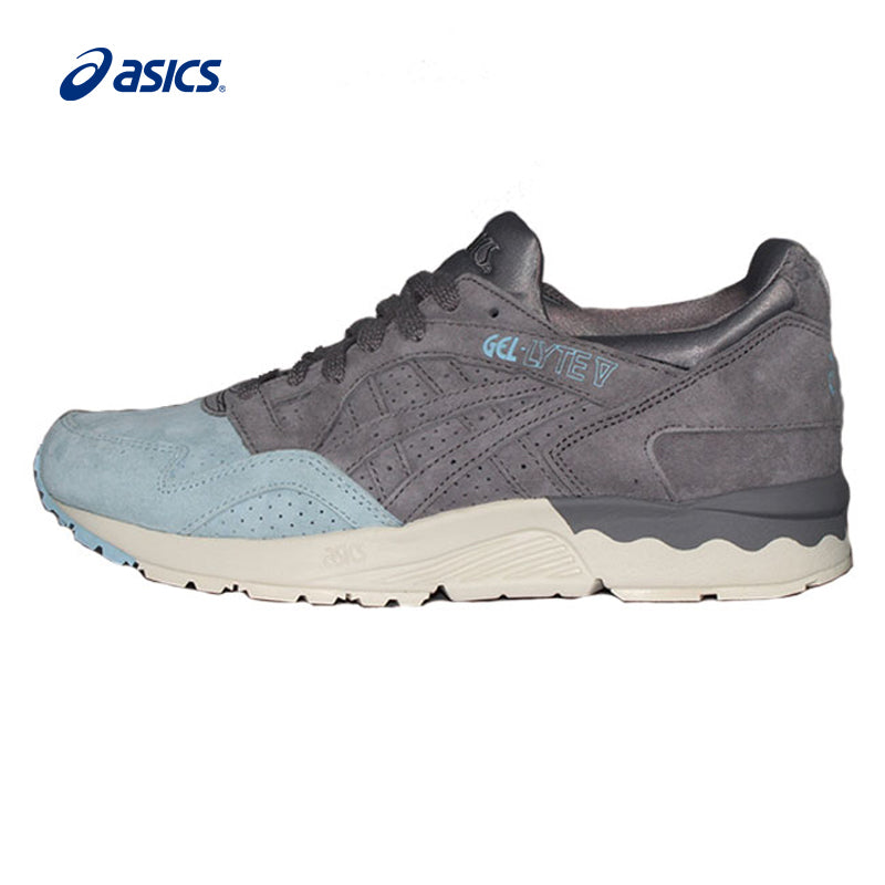 nouveau style aad68 d1a88 Authentic ASICS Men Cushioning Retro Running Shoes Sports Outdoor  Anti-Slippery Sneakers Walking Jogging