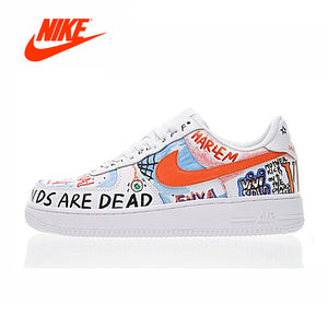 e6b433bfe39e Arrival Authentic NIKE AIR FORCE 1 LOW Men s Skateboarding Shoes Sport  Outdoor Sneakers
