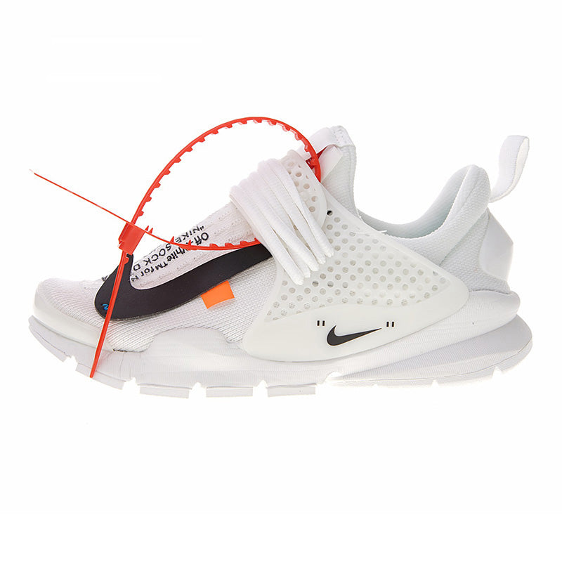 buy online 1dab6 4a93f ... Authentic Nike La Nike Sock Dart X Off-White Men s Running Shoes  Outdoor Sneakers Breathable