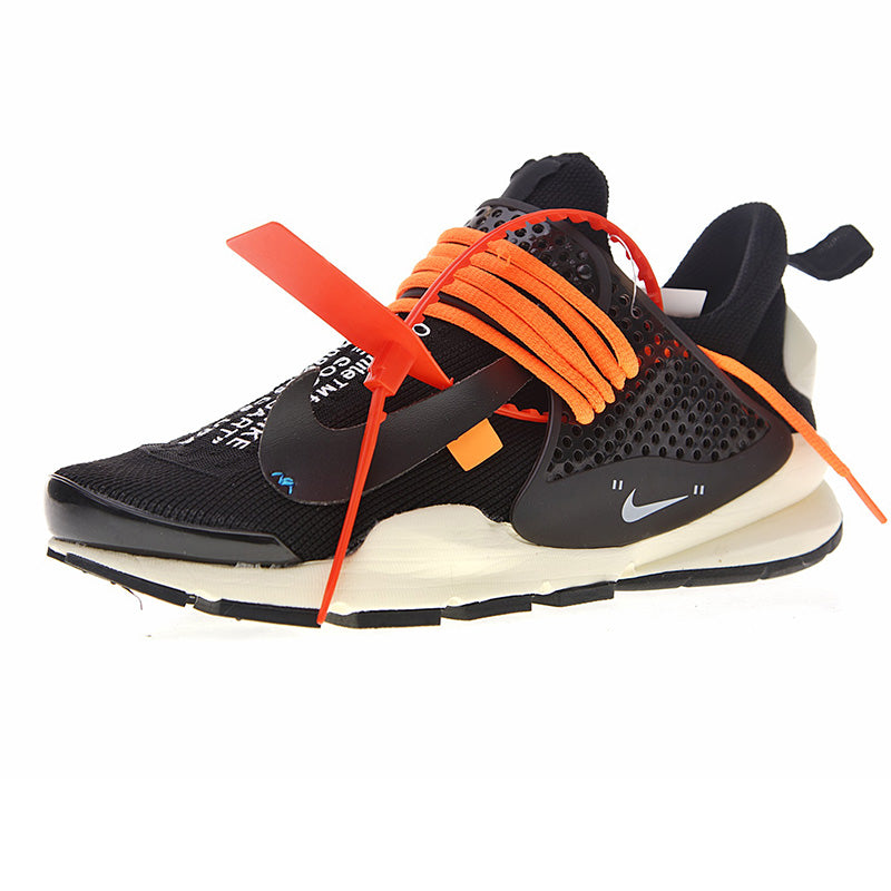 cheap for discount 4a339 969e5 Authentic Nike La Nike Sock Dart X Off-White Men's Running Shoes Outdoor  Sneakers Breathable