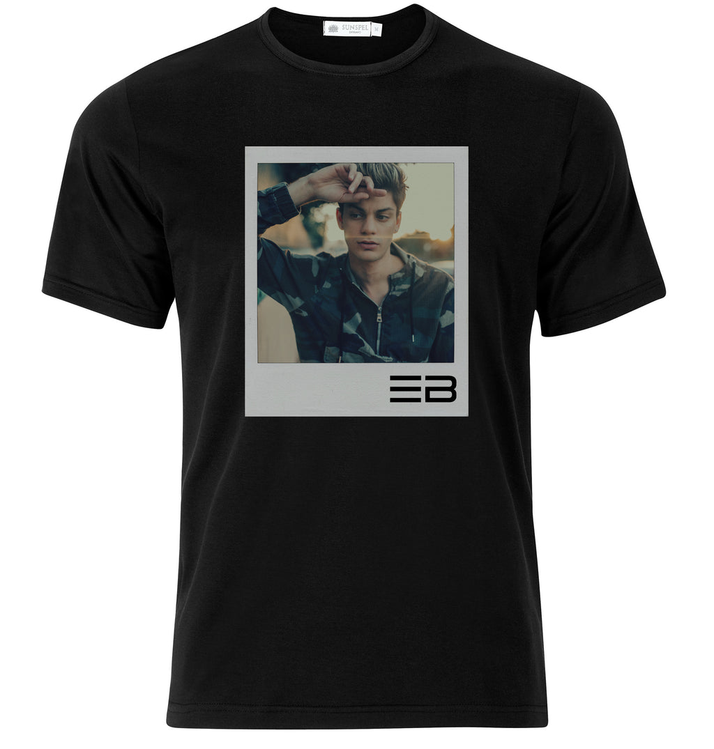 Polaroid Black T-Shirt