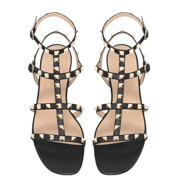 Buckle-strap Sandals - YELLOW SUB TRADING