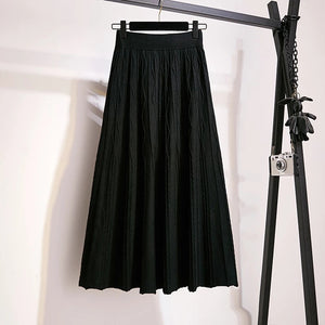 Autumn Winter Knit Skirt