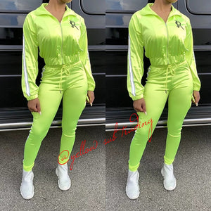 Satin Sporty Tracksuits - YELLOW SUB TRADING