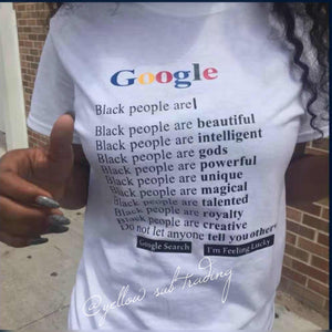 Google T-shirt - YELLOW SUB TRADING