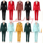 YST-489 Ladies Suit - YELLOW SUB TRADING