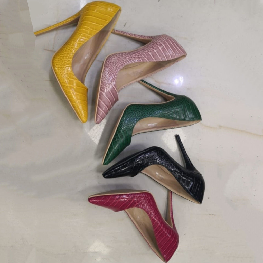Pointed Toe high heels  - YELLOW SUB TRADING