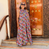 Sleeveless Ankara Dress  - YELLOW SUB TRADING
