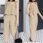 Off Shoulder Casual Set