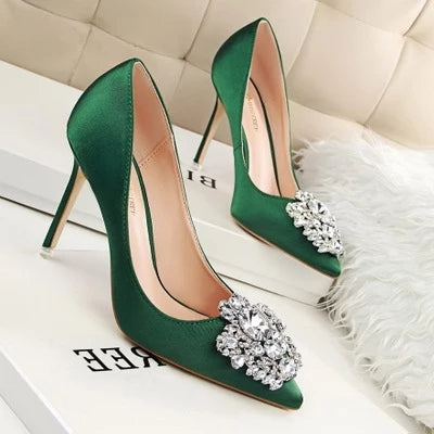 Diamond Buckle Shoes