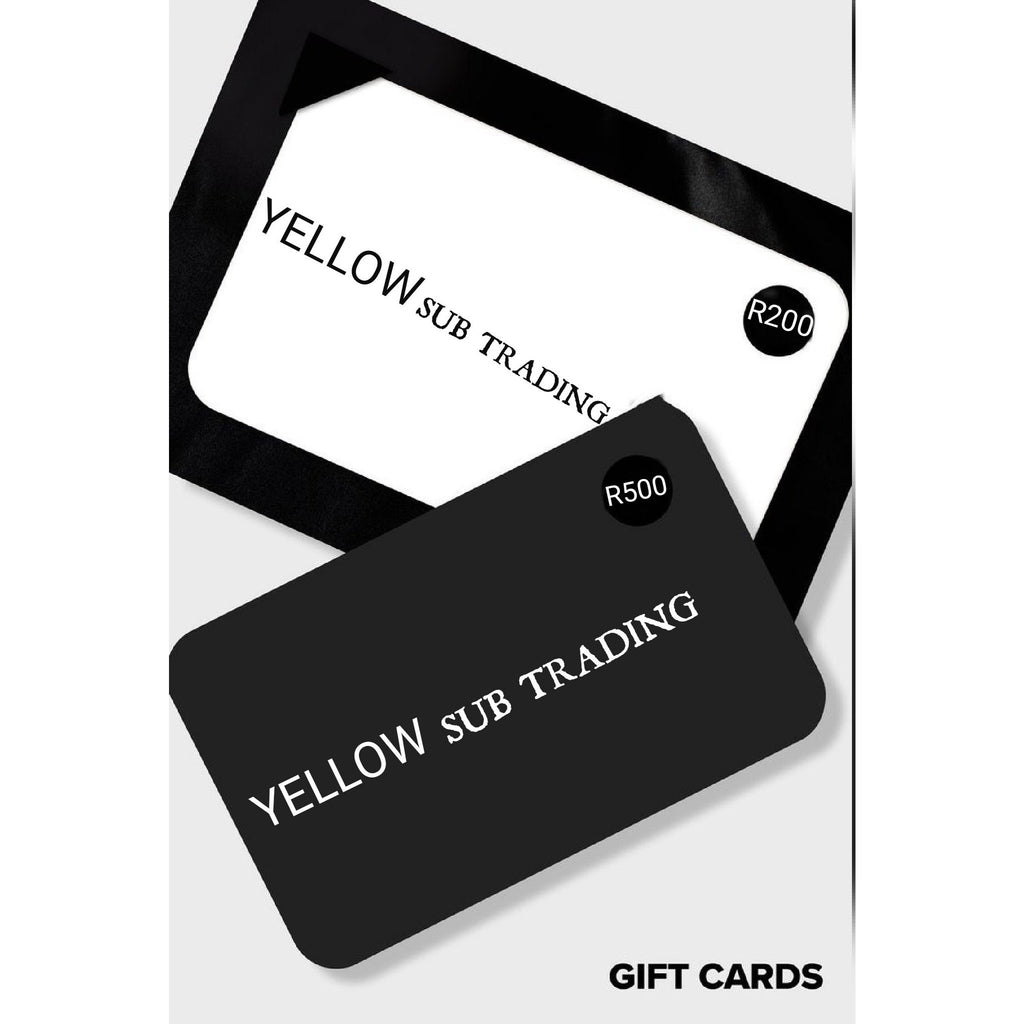 Gift Card - YELLOW SUB TRADING
