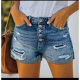 Distressed Short Denim