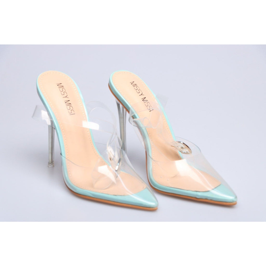 Close Toe Transparent Sandals