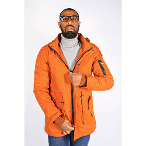 Bryce Hooded Long Jacket