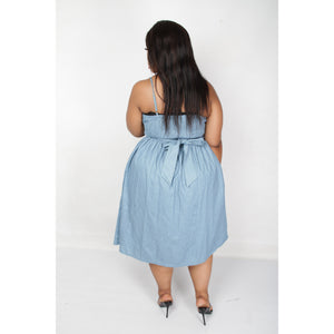 Short Denim dress - YELLOW SUB TRADING