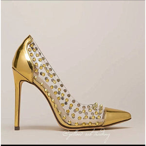 Studded PVC Pumps - YELLOW SUB TRADING