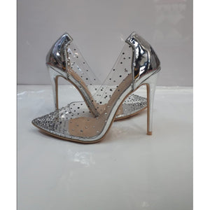 Transparent Glitter Heel - YELLOW SUB TRADING