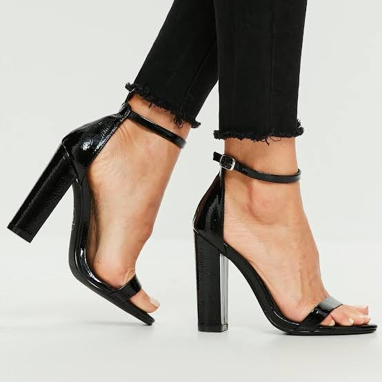 Open Toe Block Heel Strappy Sandal