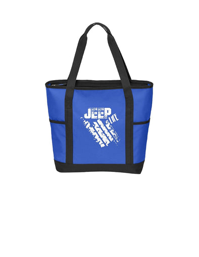 Jeep Life - Port Authority Daily Tote - DogHouse Graphix,LLC
