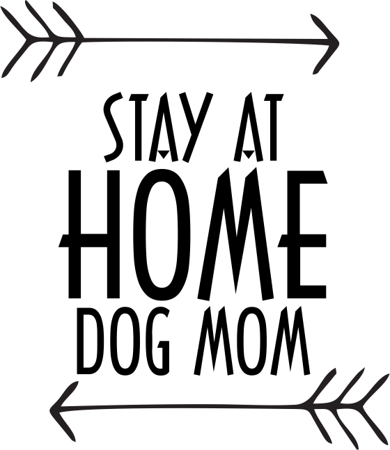 Stay At Home Dog Mom - Unisex Short Sleeve - DogHouse Graphix,LLC