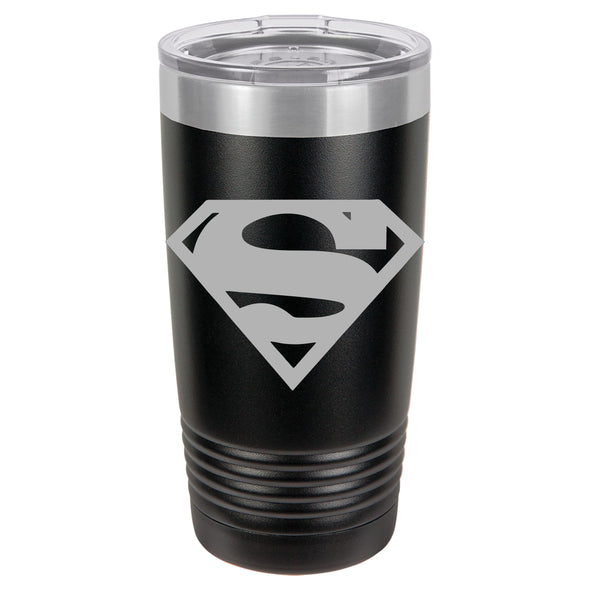 Superman Powder Coated Tumbler