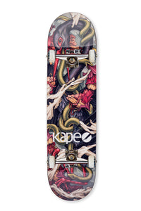 "Carboslick - ""The Crane"" - Skateboard Deck."