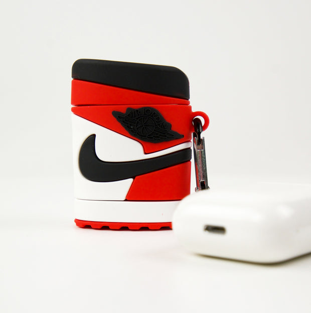 Airpods Case Jordan 1 Chicago Red