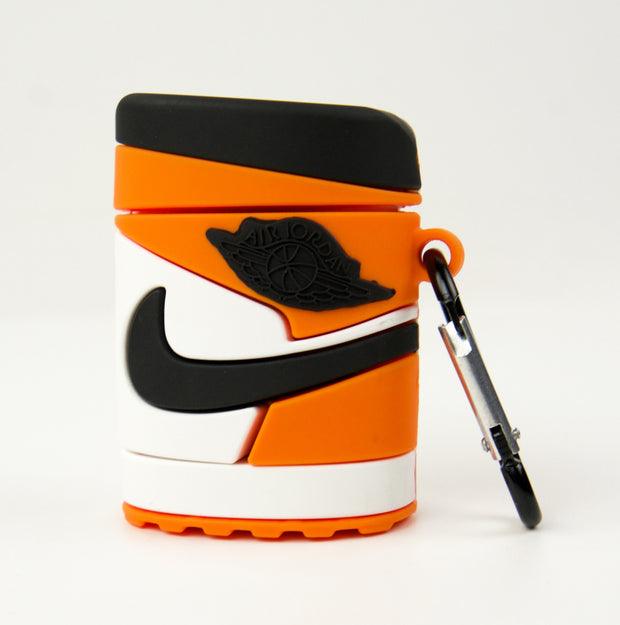 Airpods Case Jordan 1 Orange