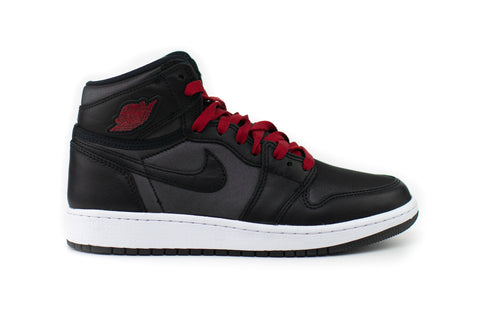 Jordan 1 Mid High Satin Black