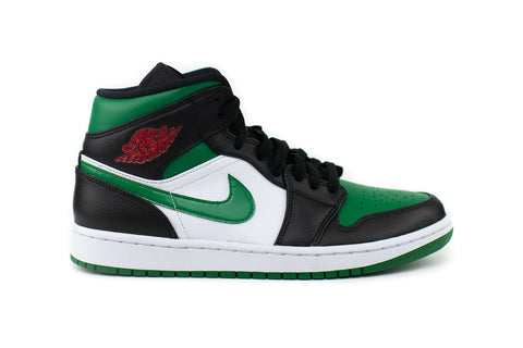 Jordan 1 High Mid Green Toe