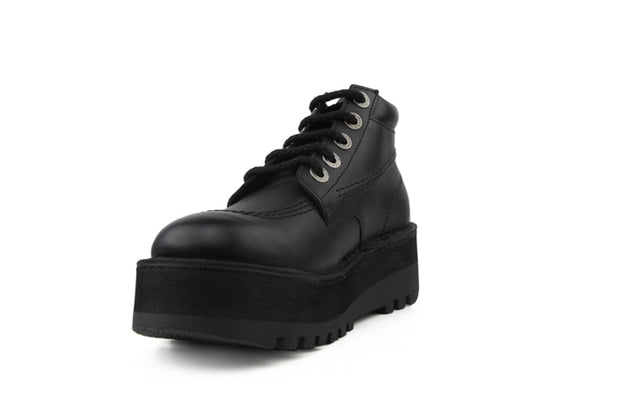 Kickers Kickpaltform noir