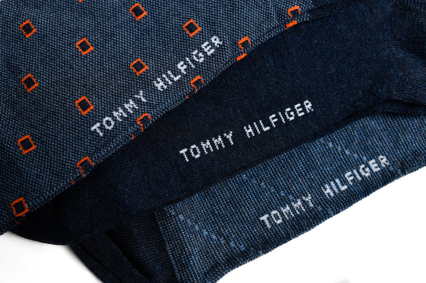 BOX - Tommy Hilfiger Man's Black Socks