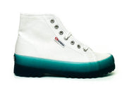 Superga ferragni blue high