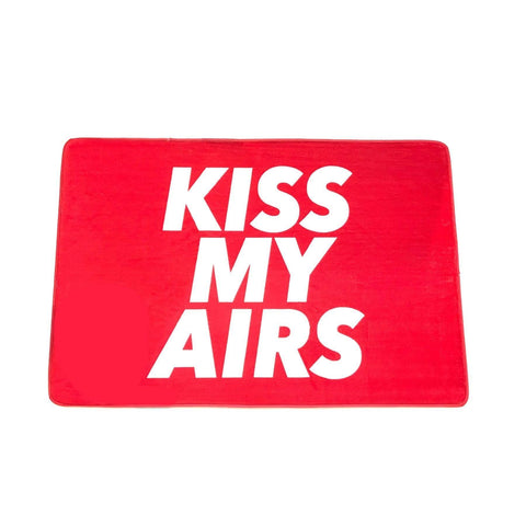 "Mat ""Kiss My Airs"" Red Small"