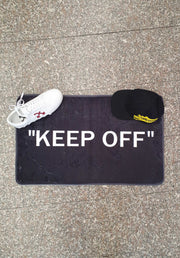 "Mat ""Keep Off"" Small"