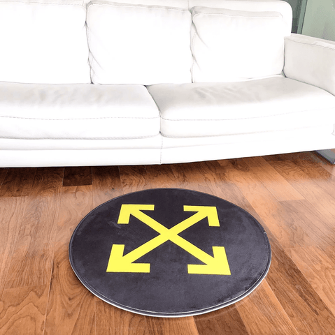 "Mat ""Off-White"" Round"