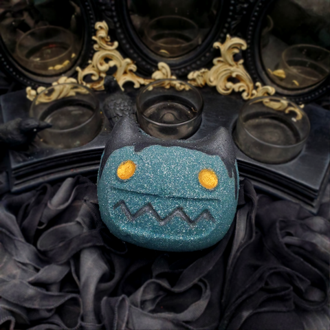 Goblin Cat BathBomb - Nox