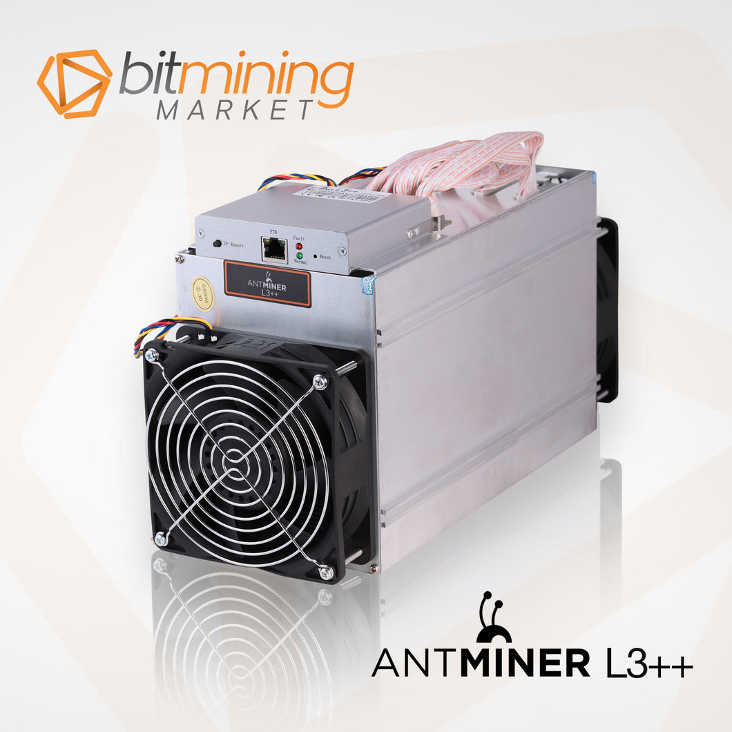 Antminer L3++ - 504 MHs with PSU