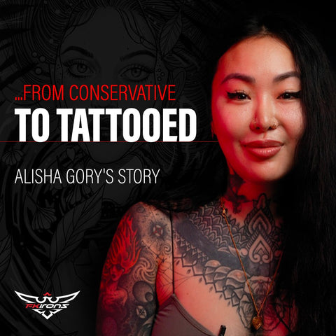 Alisha Gory, tattoo artist who is heavily tattooed, wants to add her voice to phase out prejudice and the narrow perception of beauty