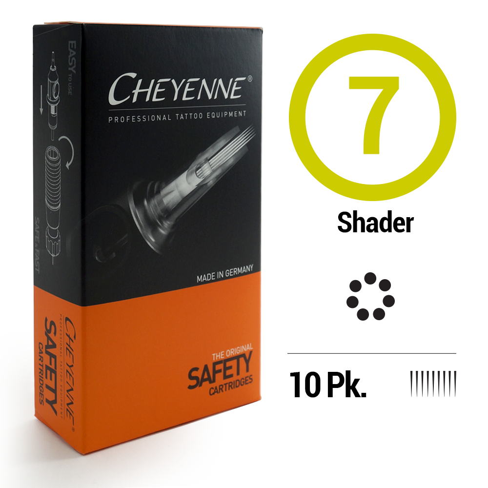 7 Shader Tattoo Cartridge Needle