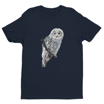 Barred Owl T-Shirt - Midnight Navy