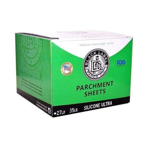 "Black Label ULTRA Silicone Coated Parchment Paper - 4"" x 4""-General Merchandise-Vape In The Box"