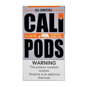 Cali Pods 8pk  JUUL Compatible Nic Salt Prefilled Pods (MSRP 15.99)