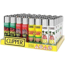 "Load image into Gallery viewer, Clipper Lighter Reggae ""Rasta""-Lighters-Vape In The Box"