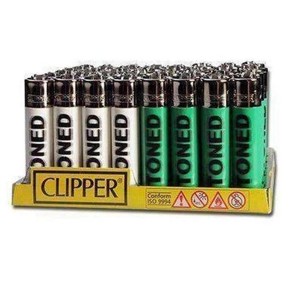 Clipper Stoned Blurry Flint Lighter Display-Lighters-Vape In The Box