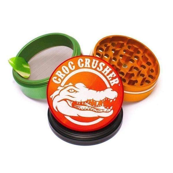 CROC CRUSHER - 3.5 INCH HERB GRINDER-Grinders-Vape In The Box