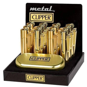 Gold Clipper-Lighters-Vape In The Box