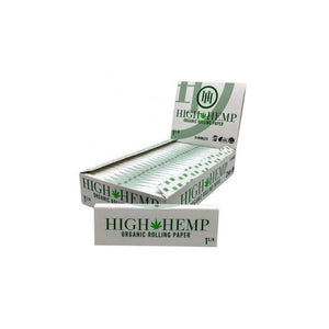 H H Organic Rolling Paper 1 1/4-Rolling Papers-Vape In The Box