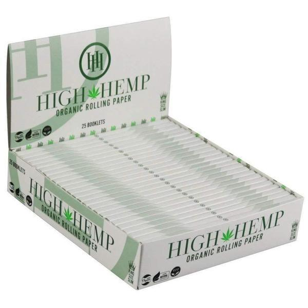 H H Organic Rolling Paper King Size Slim-Rolling Papers-Vape In The Box